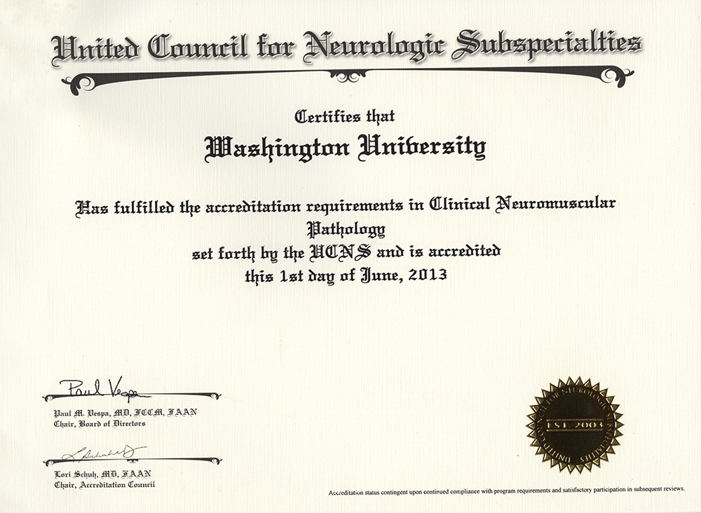 Neuromuscular Clinical Laboratory